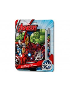 SET NOTES SPIRALE + PENNA AVENGERS