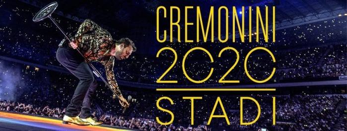 CESARE CREMONINI - STADI 2020